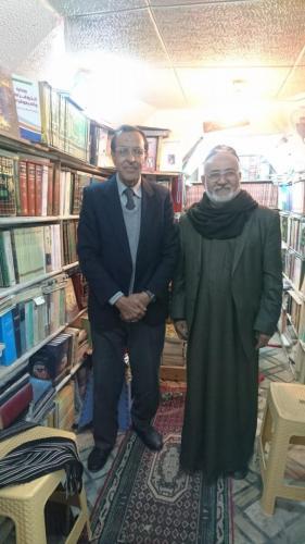 ابو فواد مع حسين الشريفي