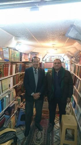 حامد مع حسين الشريفي